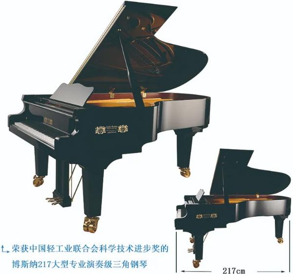 热烈祝贺烟台博斯纳钢琴制造有限公司 荣获中国轻工业联合会科学技术进步奖